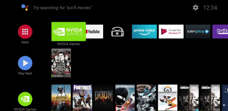 Unlockmytv on NVIDIA Shield